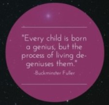 Every child is born a genius kleiner